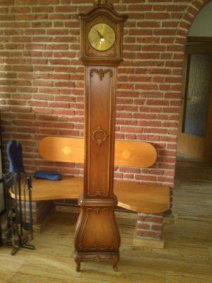 ЗРАЗОК РЕСТАВРАЦІЇ - годинник старовинний-0