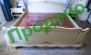 ЗРАЗОК РЕСТАВРАЦІЇ - комплект меблів для спальні, марка Klocke-0