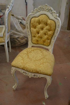 ЗРАЗОК РЕСТАВРАЦІЇ - стільці Барокко, реставровані-0