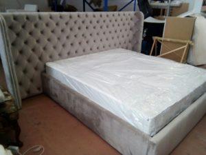 Ліжко виготовлене за індивідуальним замовленням-0