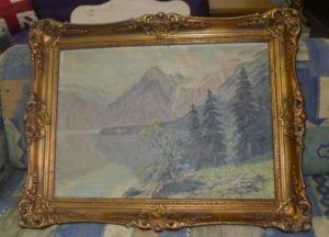 Картина пейзаж 50 х 60 см, А8114-0