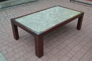 Журнальний стіл із мармуровою стільницею - ЗРАЗОК РЕСТАВРАЦІЇ-0