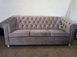 Chesterfield - диван + крісло, від виробника-0