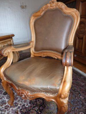 Крісло Рококо-0