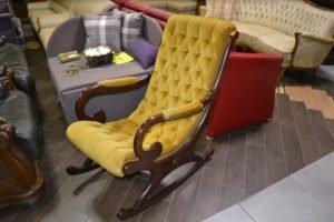 Антикварне крісло-качалка-0