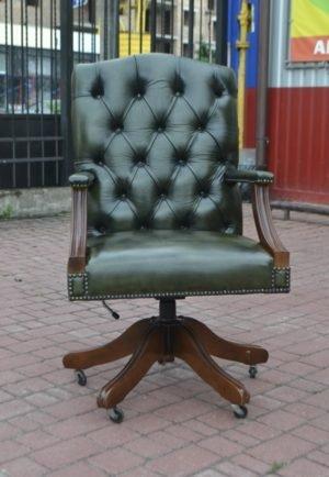 Вінтажне крісло Chesterfield-0