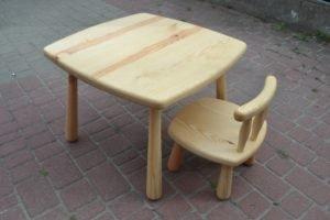 Дитячий столик + стілець -0