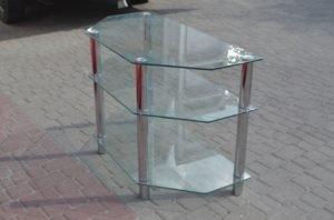 Скляний журнальний стіл А9174-0