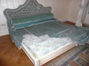 Двоспальне ліжко Антік-0
