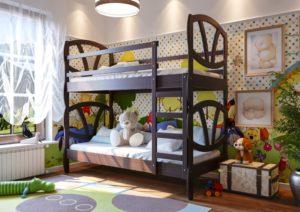 """Двохярусне ліжко-трансофрмер """"Вікторія""""-0"""