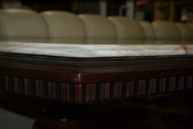 Журнальний стіл із оніксовою стільницею - ЗРАЗОК РЕСТАВРАЦІЇ-71285
