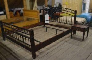 Ліжко коване + тумба + ламель А9627-0