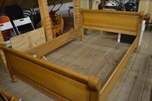 Ліжко дубове + ламель А9626-0
