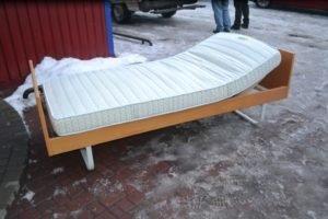 Ліжко + підйомна ламель + мартац А9649-0