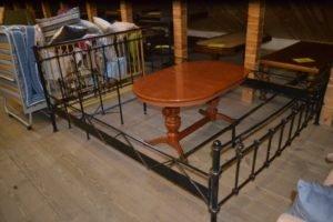 Металеве ліжко + тумба А9689-0
