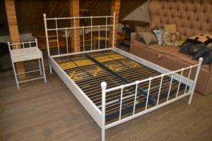 Металеве ліжко + тумба А9644-0