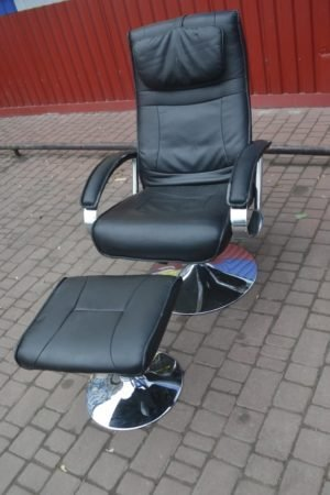 Крісло обертове + пуф, А9833-0