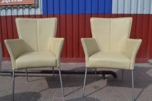 Шкіряні крісла, 2 шт., А9893-0