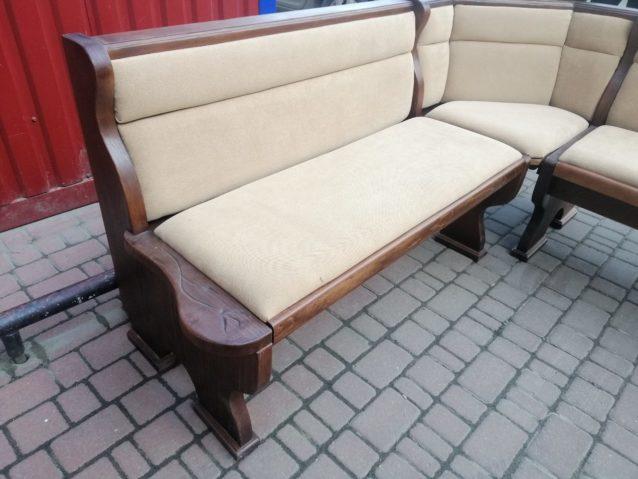Кутовий диван на кухню ПРИКЛАД РЕСТАВРАЦІЇ, А9854-73687