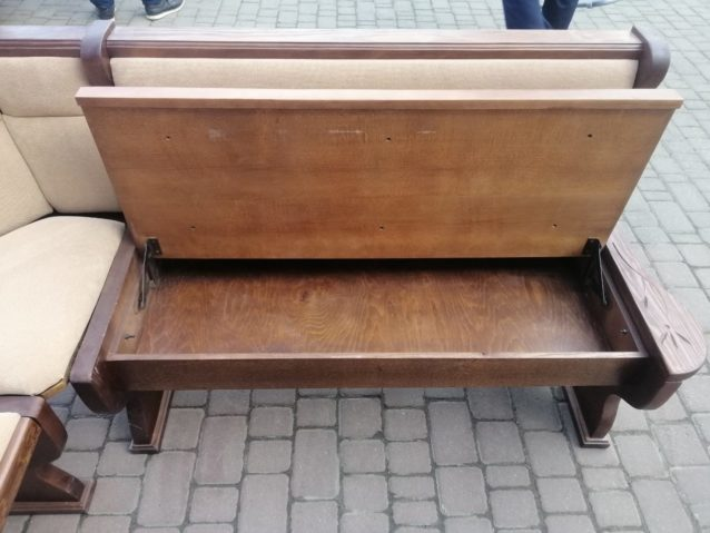 Кутовий диван на кухню ПРИКЛАД РЕСТАВРАЦІЇ, А9854-73689