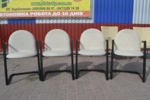 Стільці з підлокітниками, 4 шт., А9895-0