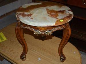 Журнальний стіл з мраморною стільницею, А9861-0