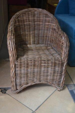 Дитяче кріселко з натуральної лози, А9951-0