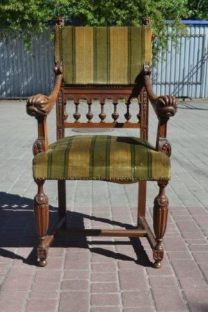 Ексклюзивне крісло-трон під реставрацію, А10025-0