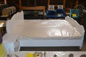 Комплект для спальні: ліжко+ламель+дзеркало+2 тумби+трюмо+стілець, А9997-0