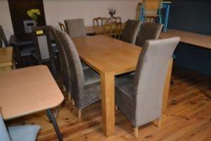 Обідній комплект: стіл та 6 стільців, А9999-0