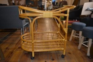 Сервірувальний столик з ротангу, А9976-0