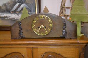Камінний годинник з масиву, А10048-0