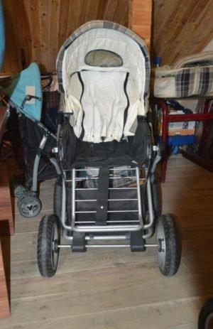 Комплект: каляска та дитяче крісло, А10140-0
