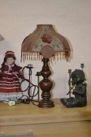 Настільна лампа з бісером, А10074-0