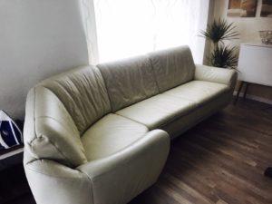Шкіряний кутовий диван, А10143-0