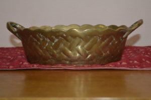 Старовинна миска латунь, А10116-0