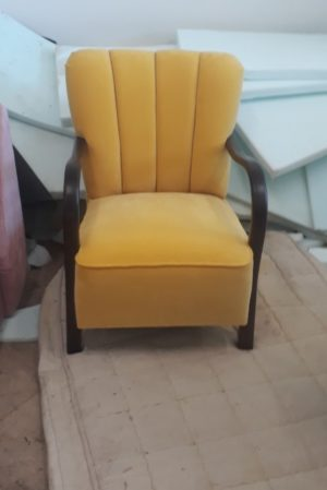 Вінтажне крісло, ЗРАЗОК РЕСТАВРАЦІЇ, А10103-0