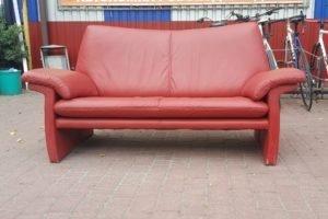 Дизайнерський диван з натуральної шкіри, А10165-0