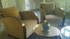 Ексклюзивні крісла Арт-Деко, 2 шт., А10206-0
