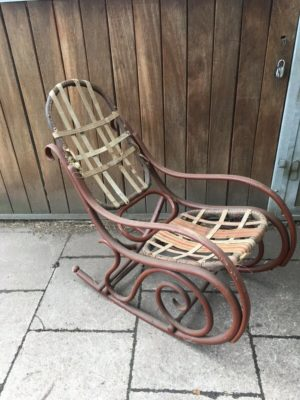 Крісло-качалка Thonet Schaukelstuhl Antik, А10152-0