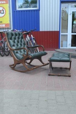 Крісло-качалка та пуф Честер, А10145-0