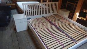 Комплект для спальні: ліжко+ламель+2 тумби, А10211-0