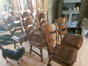 Обідні стільці, 6 шт, А10309-0