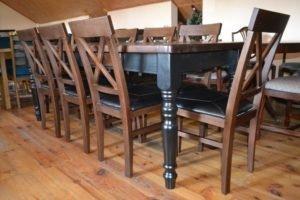 Обідній комплект: стіл та 8 стільців, А10217-0