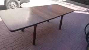 Розкладний стіл з масиву дуба, А10210-0
