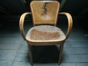 Вінтажне крісло з ротангом, А10256-0
