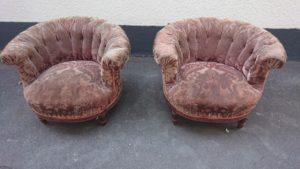 Вінтажні клубні крісла, А10315-0