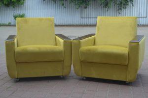 Вінтажні крісла, 2 шт., А10144-0