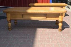 Журнальний стіл з масиву дуба, А10231-0
