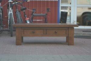 Журнальний стіл з шухлядами масив дуба, А10225-0